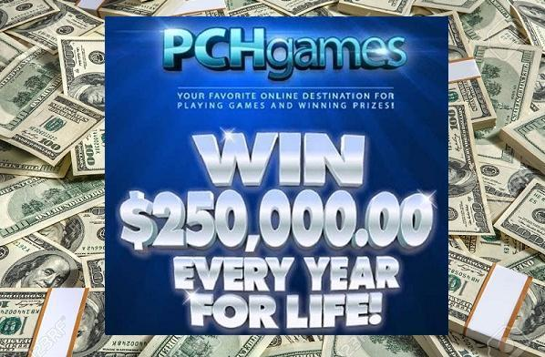 PCH $250,000 A Year For Life Superprize Giveaway – Win $250,000 Every Year For Life