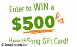 Hearth Song Gift Card Giveaway