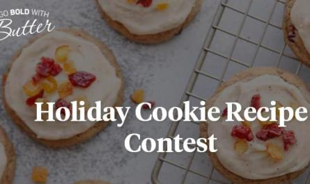 Go Bold With Butter Holiday Cookie Contest