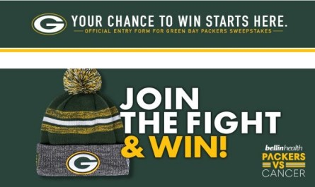 Green Bay Packers Vs. Cancer Knit Hat Sweepstakes
