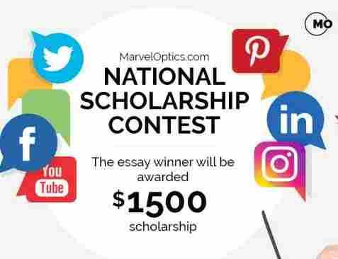Marvel Optics National Scholarship Contest