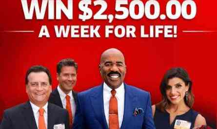 PCH Win $2500 A Week For Life Sweepstakes