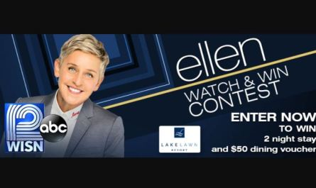 WISN Ellen Watch & Win Contest Sweepstakes