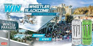 Monster Energy Circle K Whistler Winter Paradise Getaway Sweepstakes