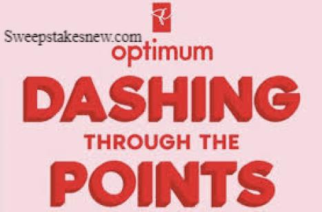 PC Optimum Dashing Through The Points Contest
