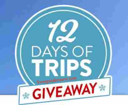 Red Tag 12 Days of Trips Giveaways