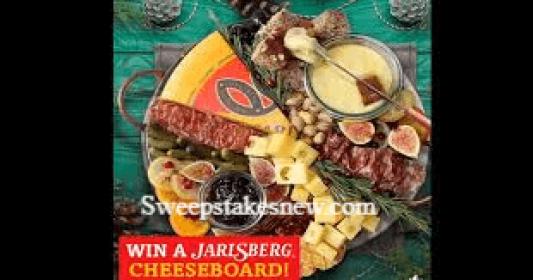Jarlsberg Cheese Signature Cheese Plate Giveaway