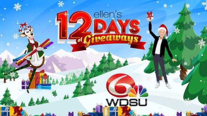 Ellen 12 Days of Giveaways