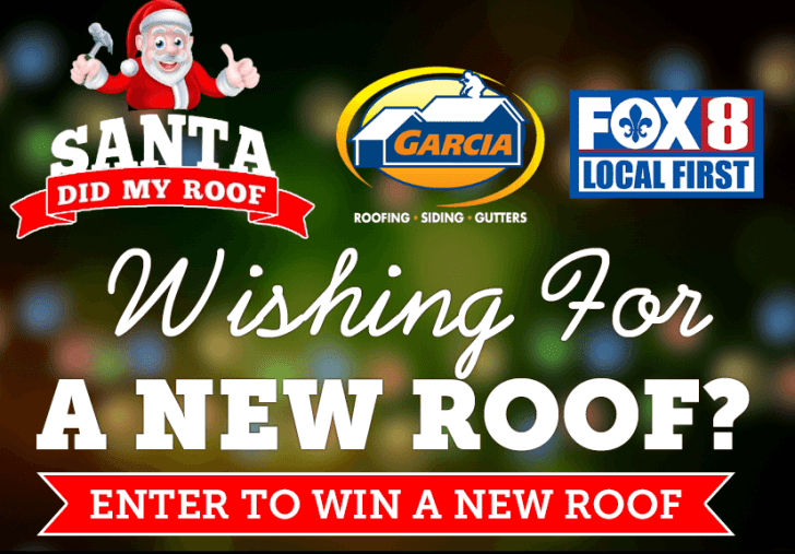 Fox 8 Live Santa Did My Roof Giveaway