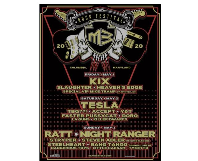 M3 Rock Festival Tickets Sweepstakes