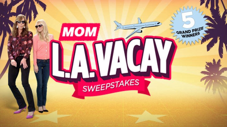 MOM L.A. Vacay Sweepstakes