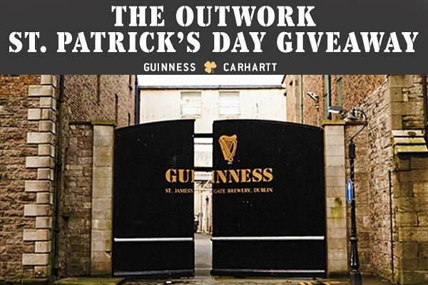 Carhartt St. Patricks Day Sweepstakes