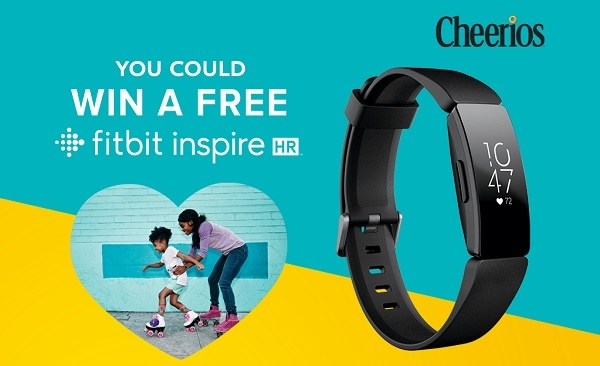 Cheerios Fitbit Inspire Sweepstakes