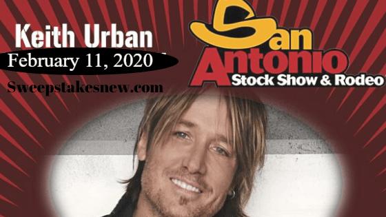 KJ97 Keith Urban Tickets Sweepstakes