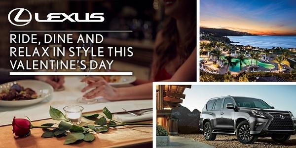 Lexus Valentines Sweepstakes