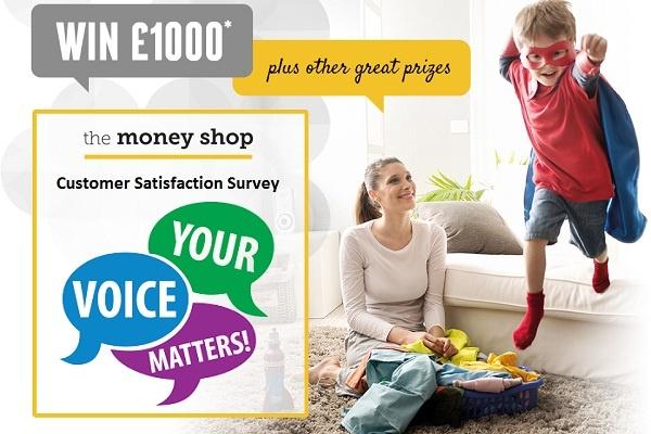 Tell The Money Shop Feedback in Customer Survey