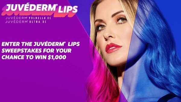 The Juvéderm Lips Sweepstakes