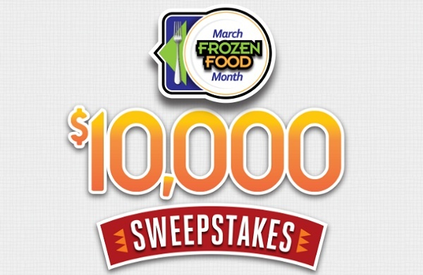 Easyhomemeals.com March Frozen Food Month $10000 Sweepstakes