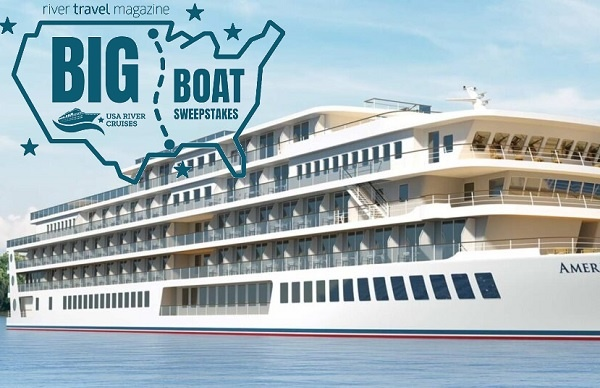 River Travel Magazine Big Boat Sweepstakes