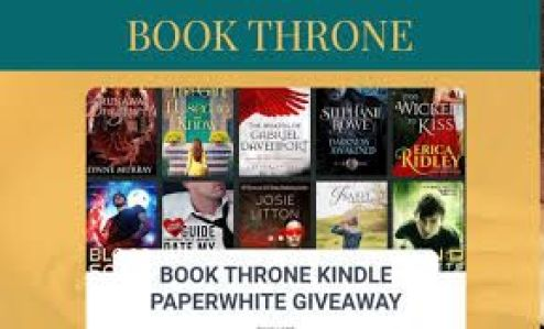 Book Throne Amazon Giveaway