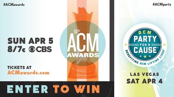 Siriusxm ACM Awards 2020 Sweepstakes