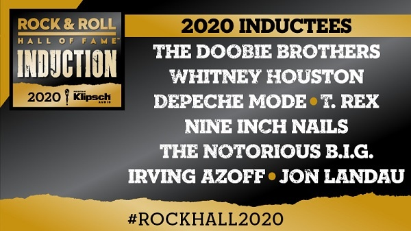 Siriusxm.com Rock & Roll Hall of Fame Induction Sweepstakes 2020