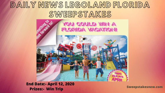 Daily News Legoland Florida Sweepstakes