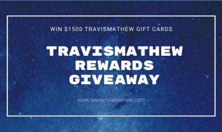 Travismathew Rewards Giveaway