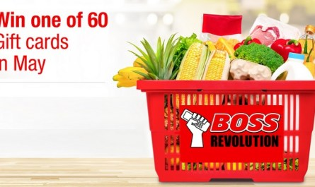 Boss Revolution Grocery Sweepstakes