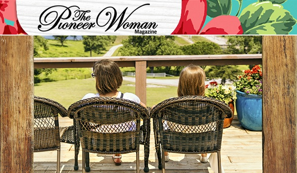 Pioneer Woman Magazine Caption Contest