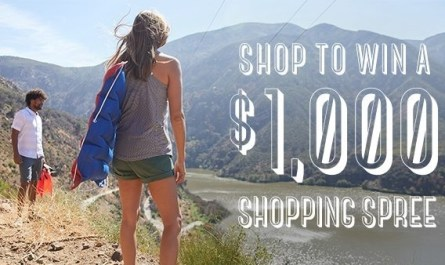 Toad&Co Shopping Spree Sweepstakes