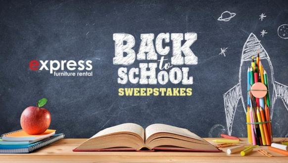 Express Furniture Rental Back to School Sweepstakes – Win A VISA Gift Card