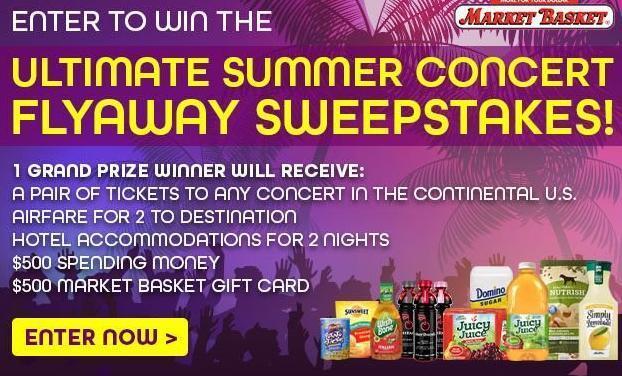 Market Basket Ultimate Summer Flyaway Sweepstakes