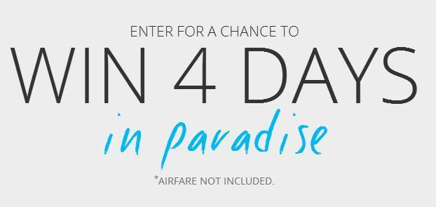 The Sandals And Beaches Giveaway Sweepstakes