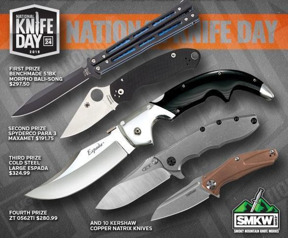 SMKW National Knife Day 2019 Giveaway