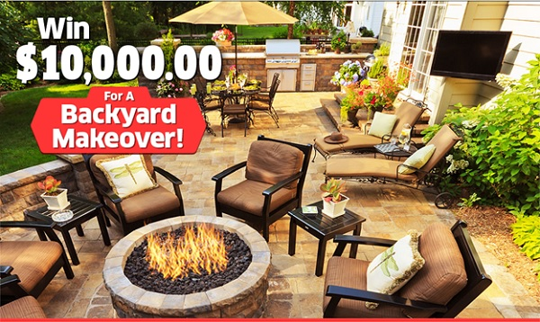 PCH Backyard Makeover Giveaway – Win Cash Prizes