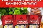 BIG Hakubaku Ramen Giveaway – Win 3pk of Fresh Ramen