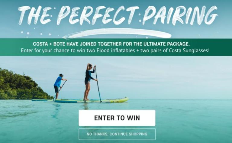 BOTE Costa Sunglasses Sweepstakes – Win Flood Inflatables