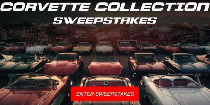Corvette Heroes Collection Sweepstakes - Win Car