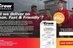 Crew Carwash Customer Satisfaction Survey - Win Cash Prizes