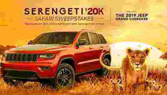 Discovery Channel Serengeti Safari Sweepstakes - Win Cash Prizes