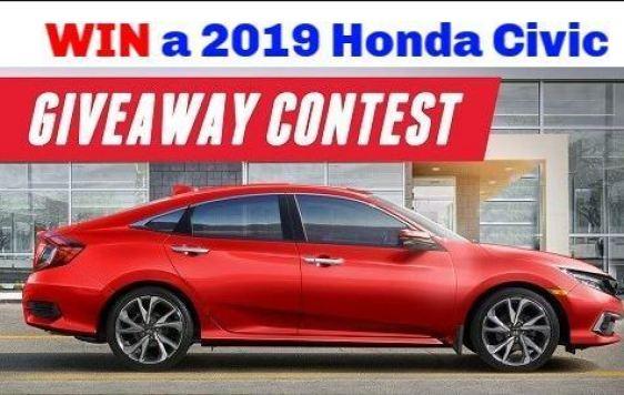 Honda Canada Civic Giveaway - Win Car