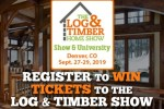 The Log And Timber Home Show Giveaway – Win Tickets