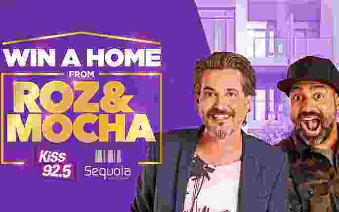 KiSS 92.5 Roz and Mocha Win A Home Contest