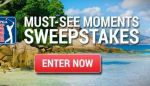 PGA Must See Moments Sweepstakes - Win Tickets