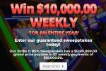PrizePub Strike It Rich Sweepstakes – Win Cash Prizes