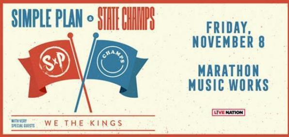 Simple Plan & State Champs Sweepstakes – Win Trip