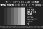 The Baby Keem Ticket Contest – Win Tickets