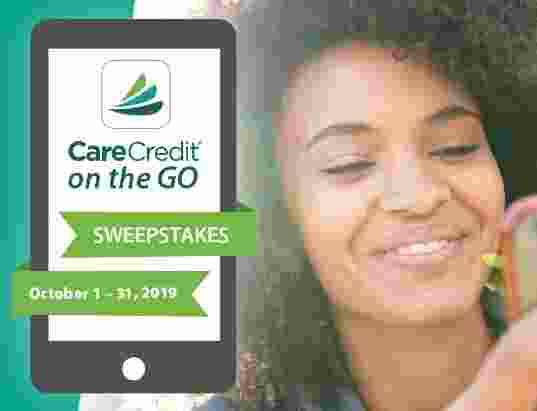 CareCredit On The Go Sweepstakes - Win Check
