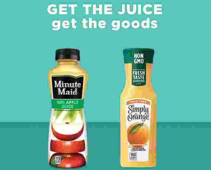 Minute Maid and Simply Beverages Sweepstakes - Win Gift Card